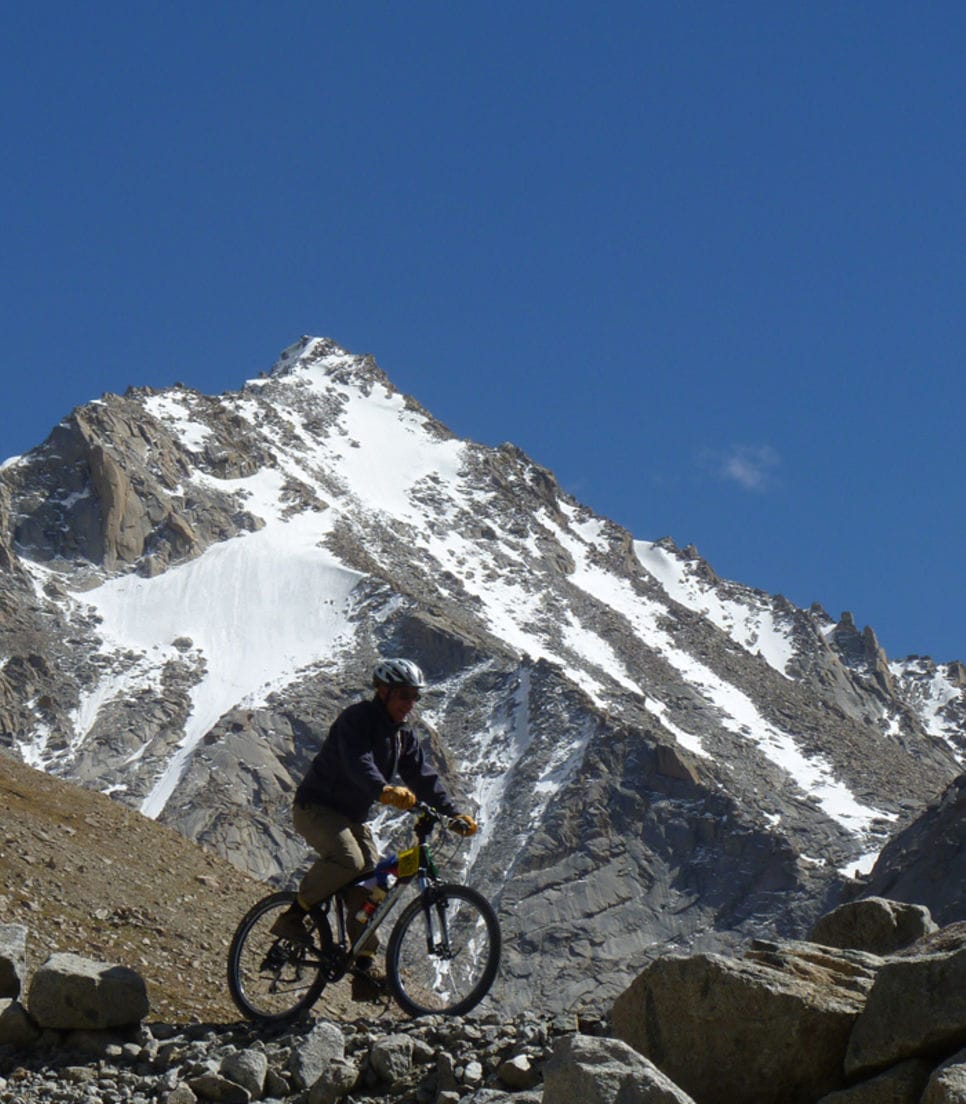 Ride the Himalayas with views of Mt. Everest