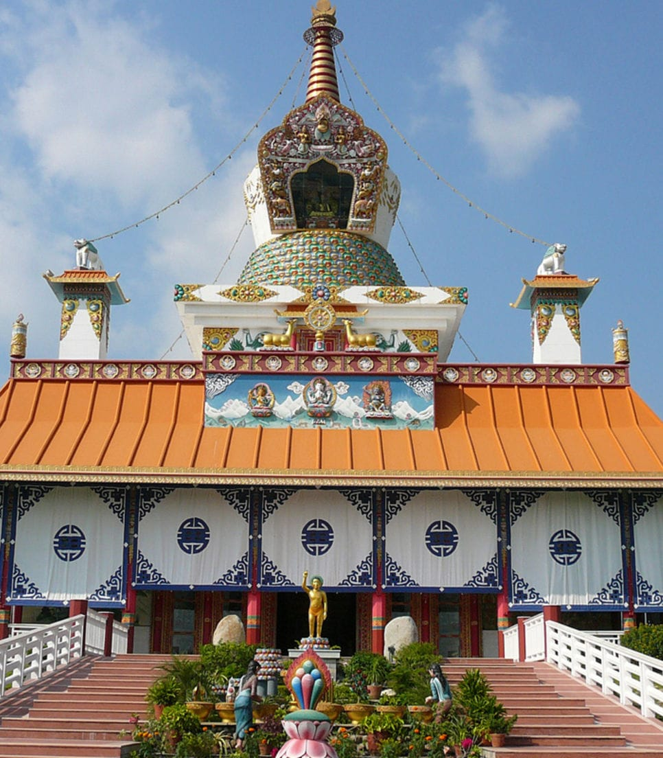 Visit the exact spot where Buddha was born