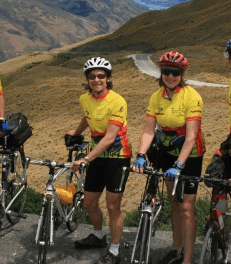 Enjoy biking with like-minded new friends