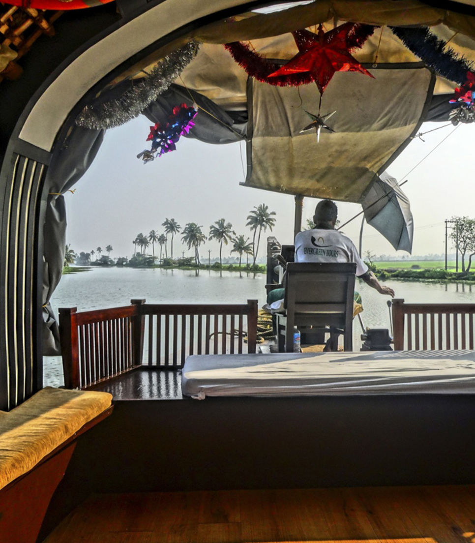 Cruise down Kerala's water in style