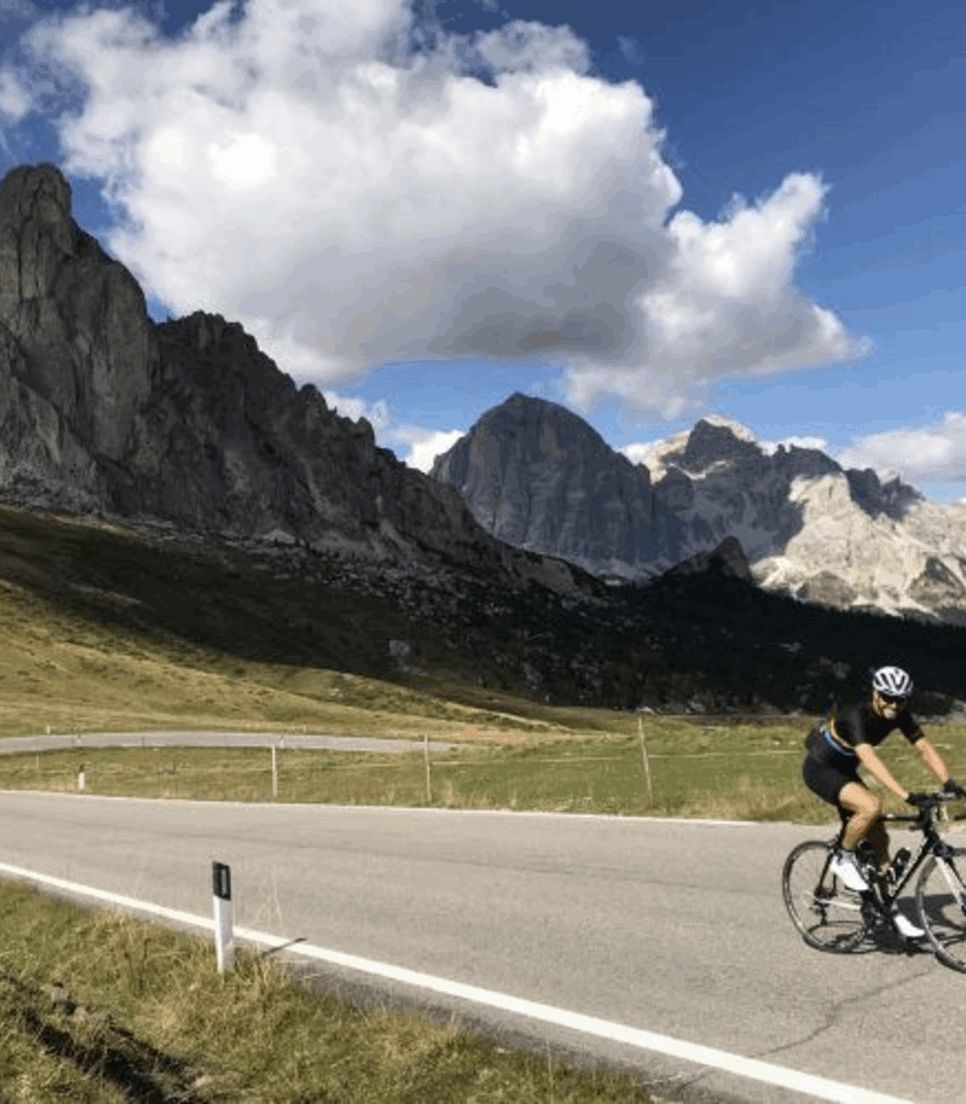 Enjoy the smooth roads and epic scenery of this part of Italy