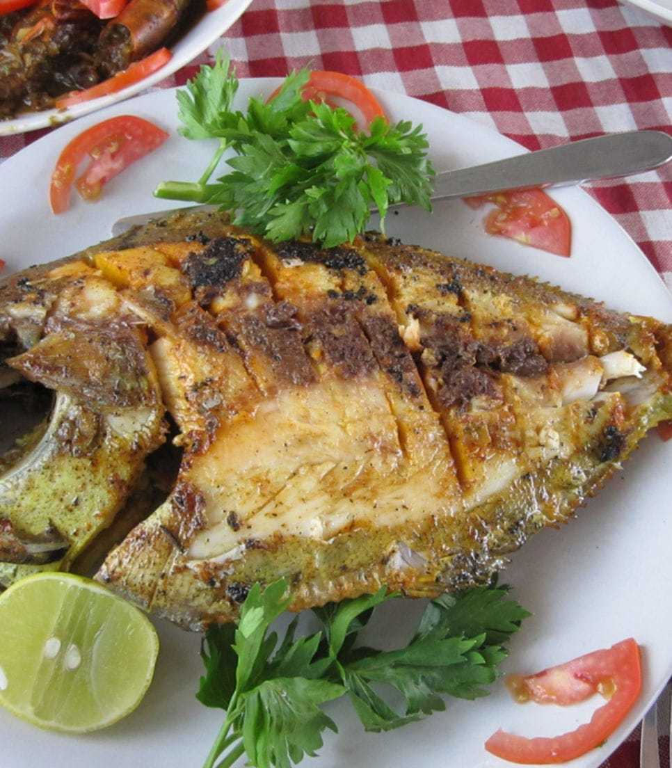 Taste the freshly caught local dishes