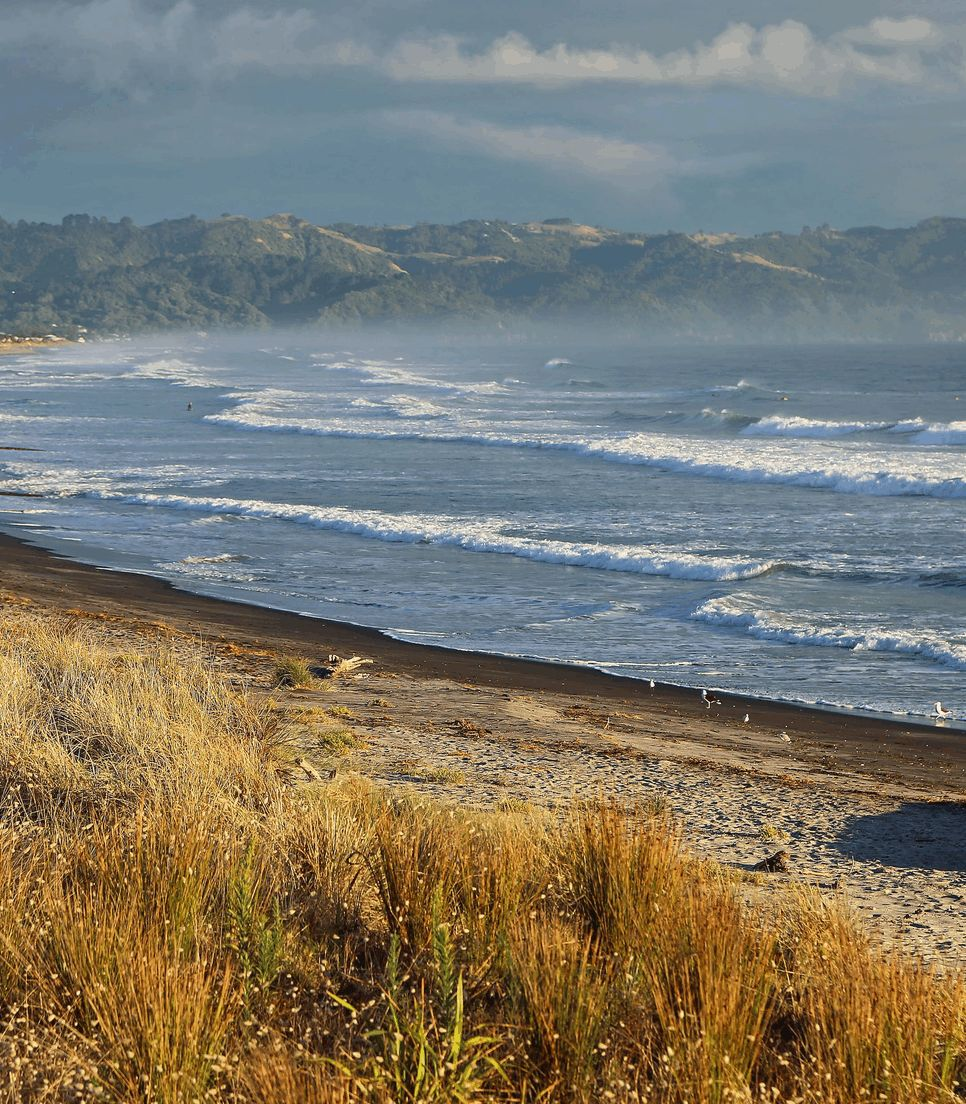 Visit spectacular Waihi Beach on day 2