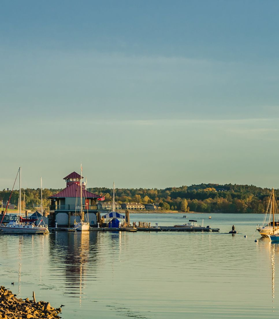 Start the tour in beautiful Burlington, on the shores of Lake Champlain