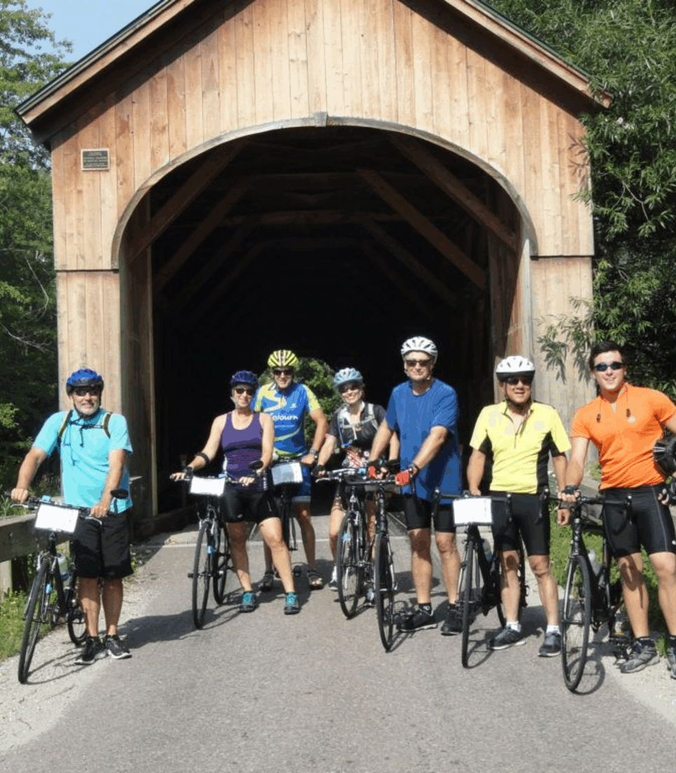 Ride through these unique structures on the tour