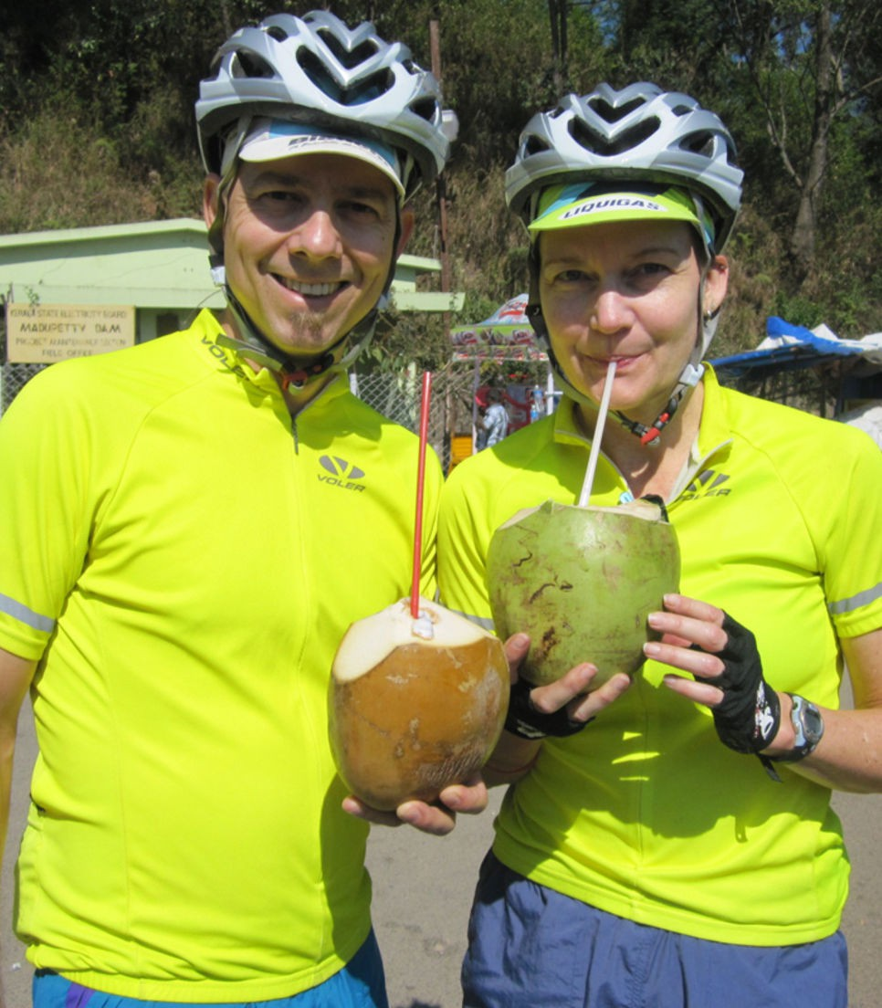 Replenish your electrolytes with fresh coconuts