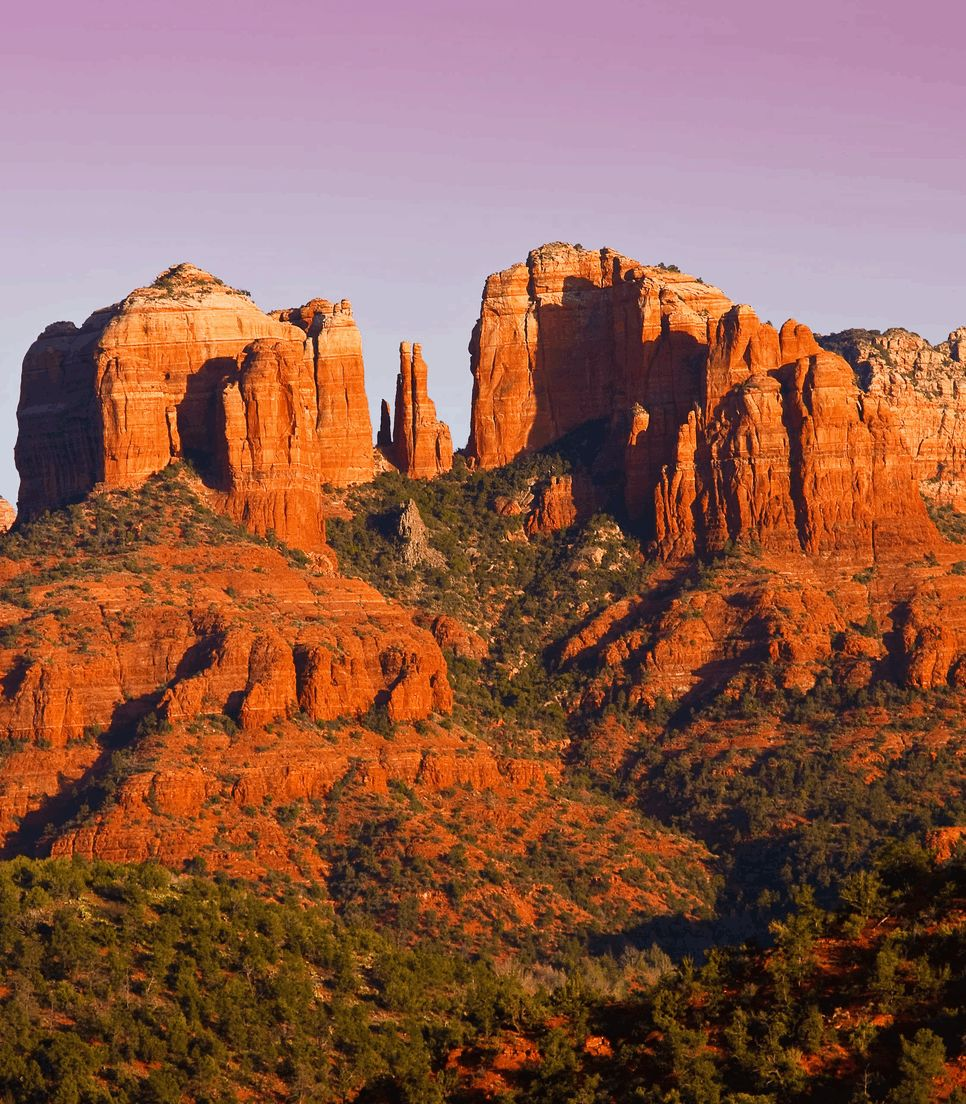 Visit the famed and majestic Cathedral Rock on day 6