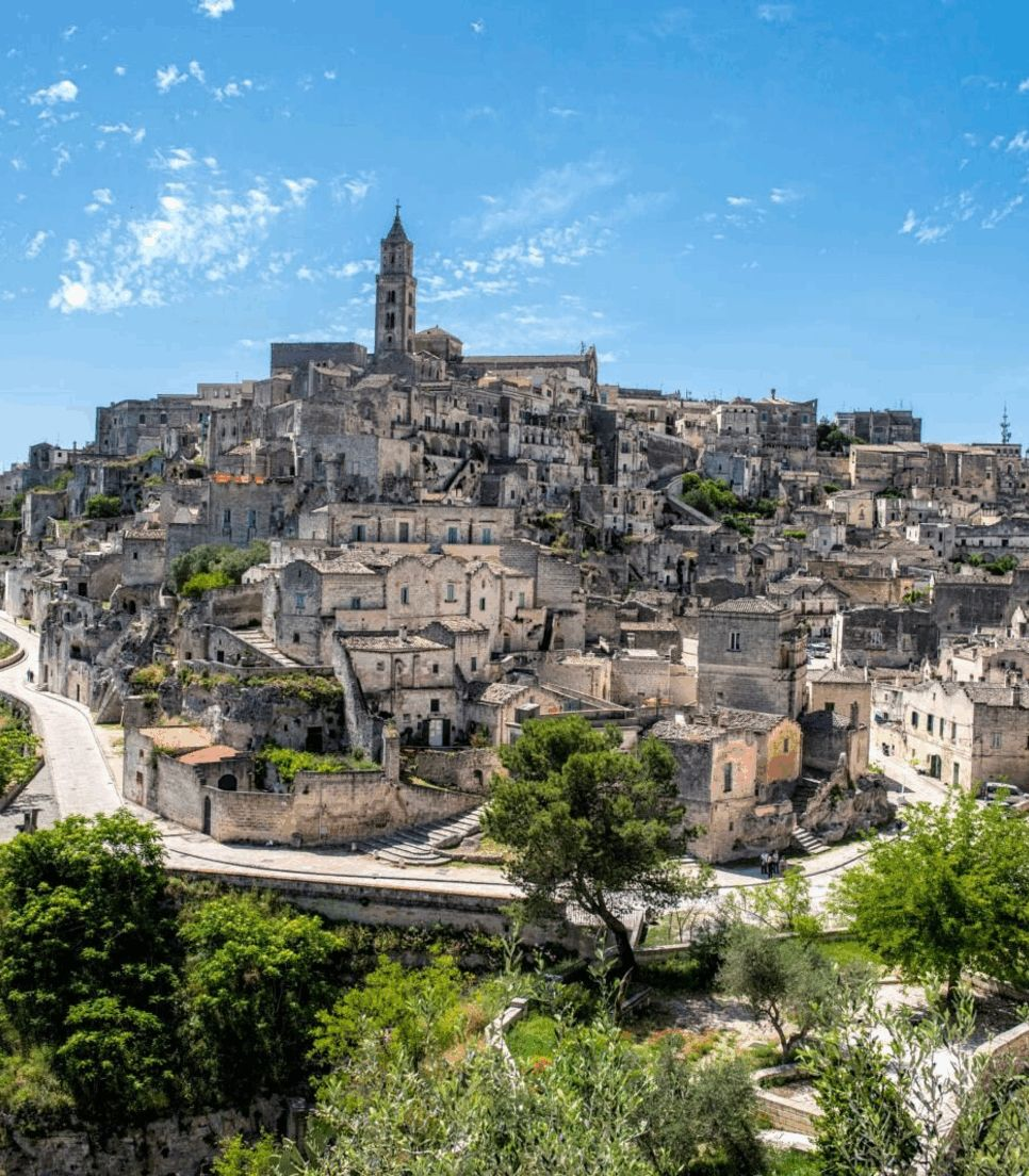 Enjoy old Italian towns and villages of the region