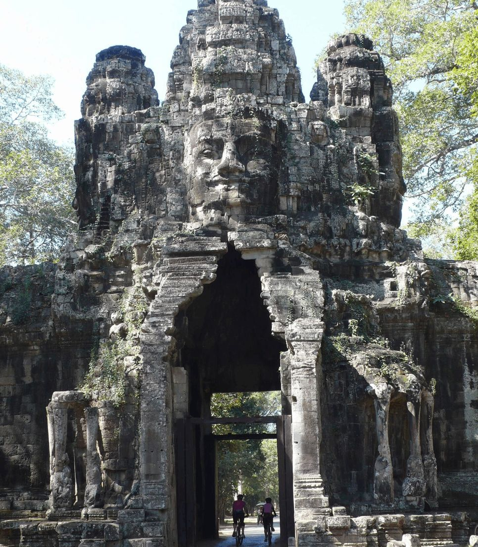 Pedal around some of the ancient wonders of the world