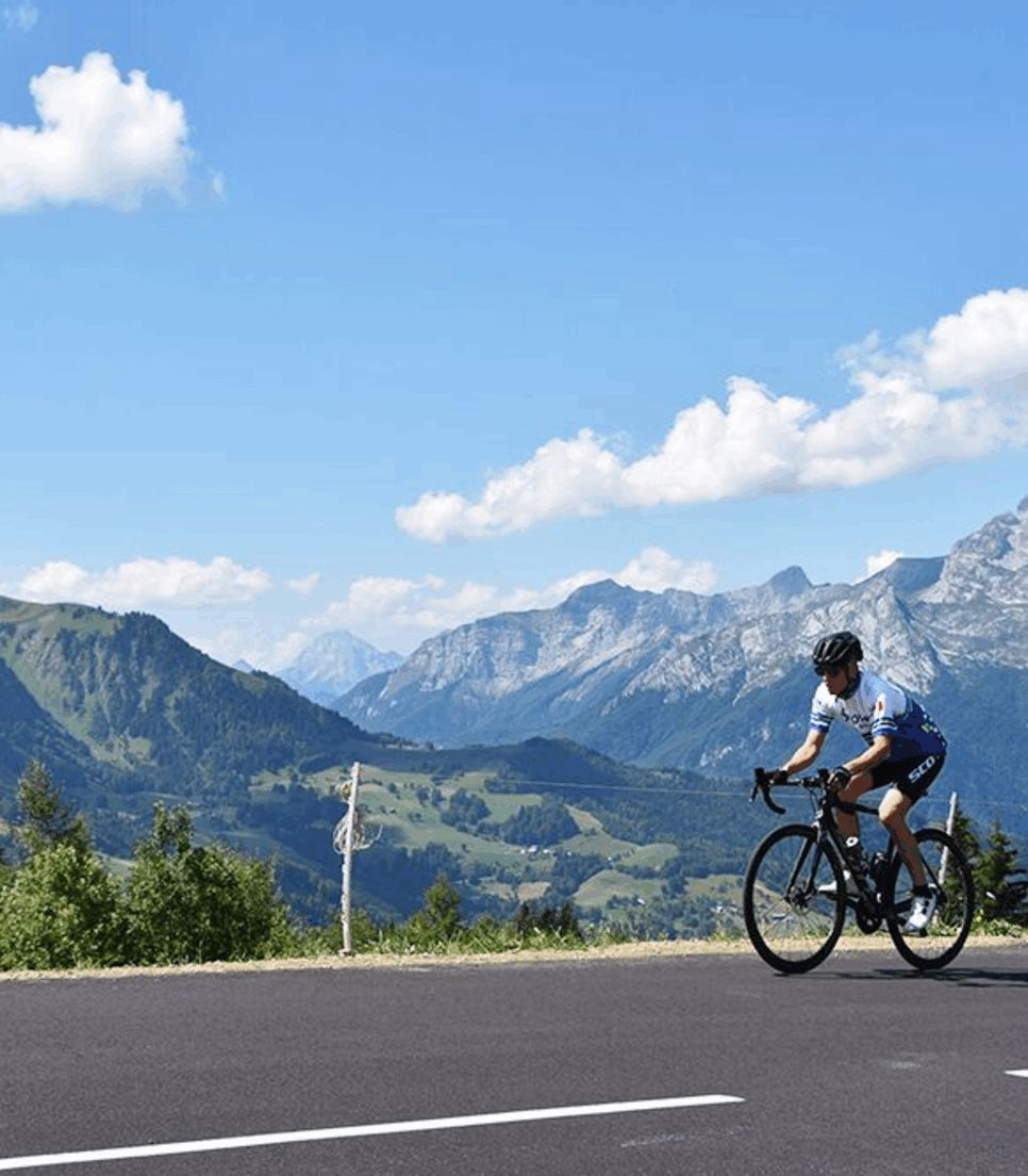 Explore this fantastic area, renowned for incredible cycling