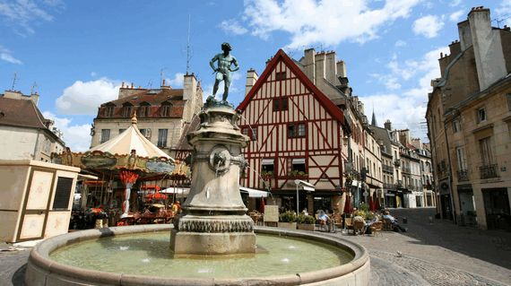 Begin this wonderful tour in medieval Dijon