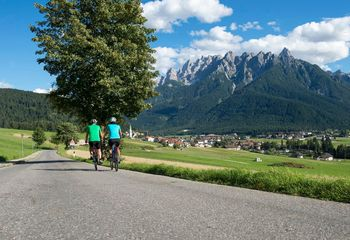 Cycle Touring the Dolomites of Italy