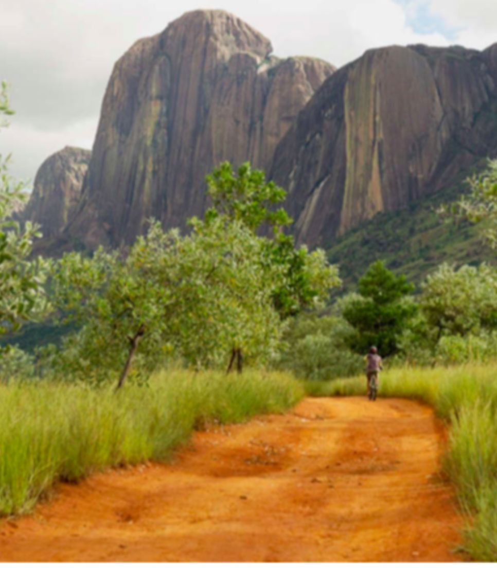 Experience cycling through the varied terrain of Madagascar