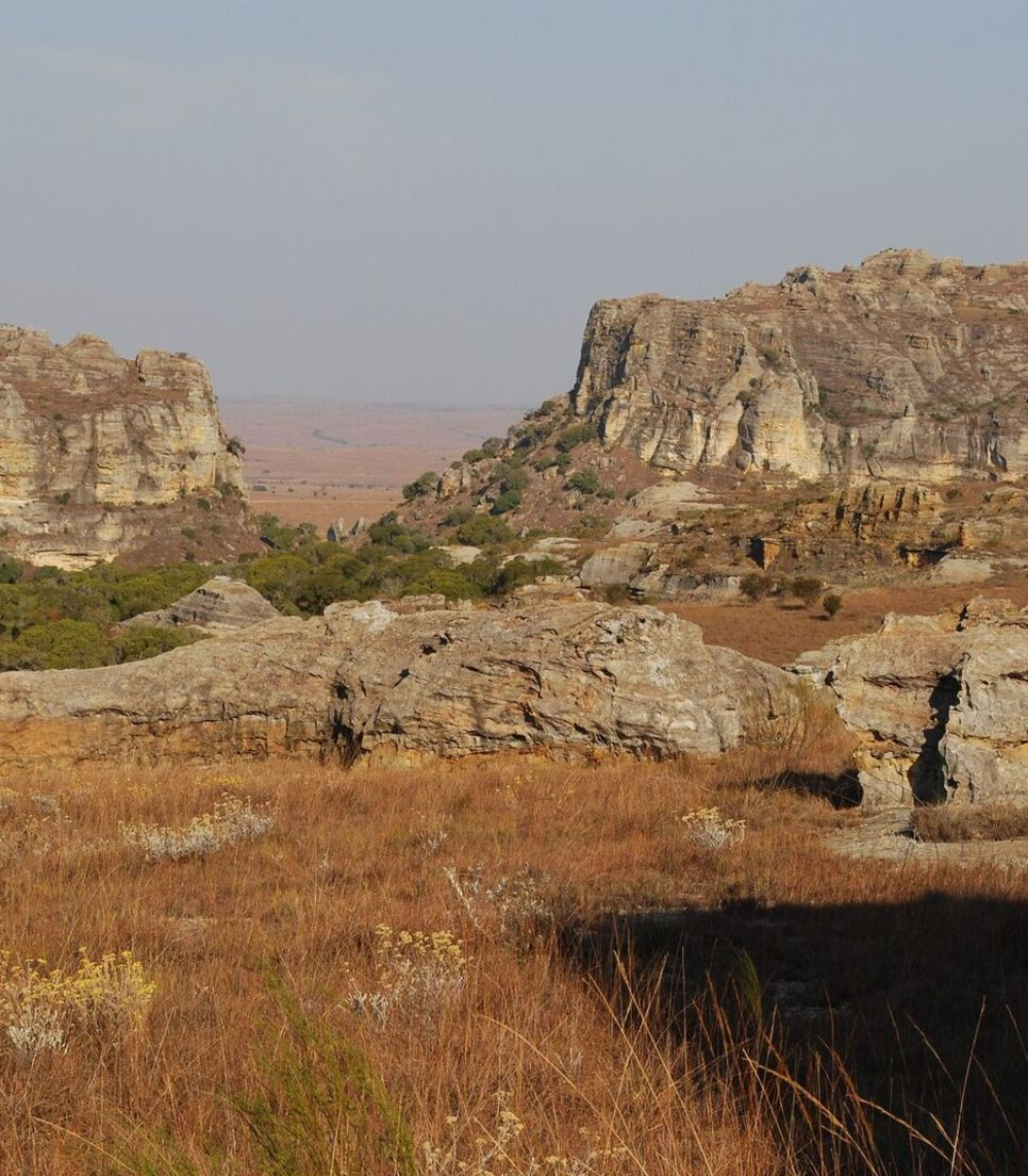 Explore the ruggedly beautiful Isalo National Park by foot