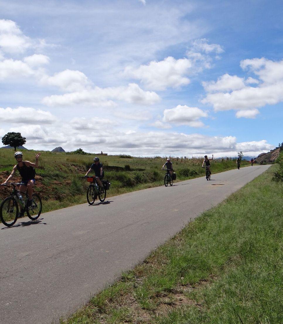 Cycle tour Madagascar and enjoy the views