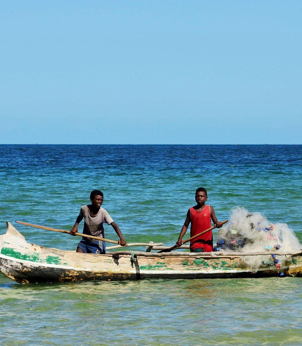 Watch the Vezo fisherman when you reach Toliara