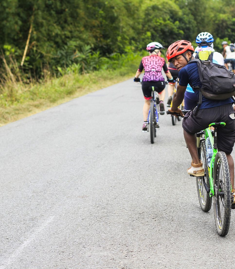 Bike the roads, lanes, and countryside and islands of Madagascar