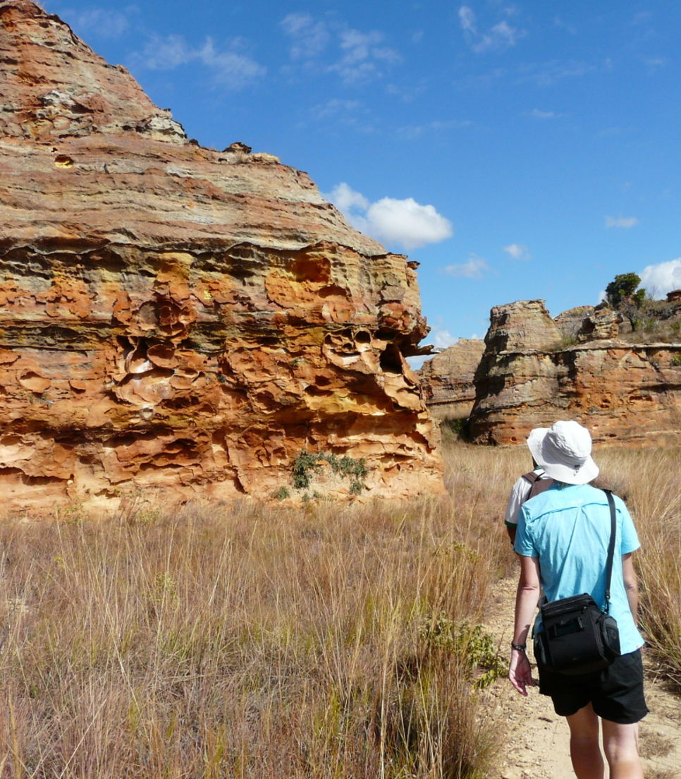 Trek through captivating landscapes formed during the Jurassic-era