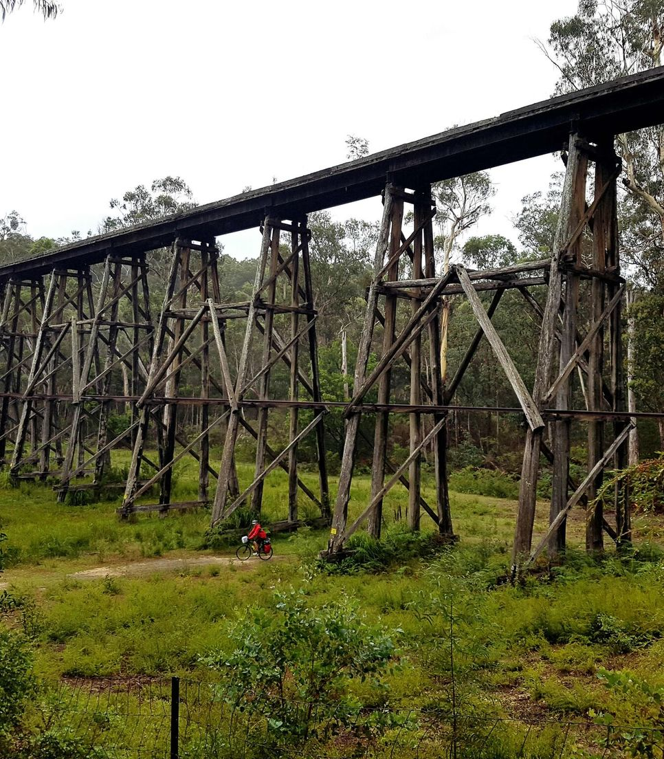 Have a fantastic time exploring the East Gippsland rail trail