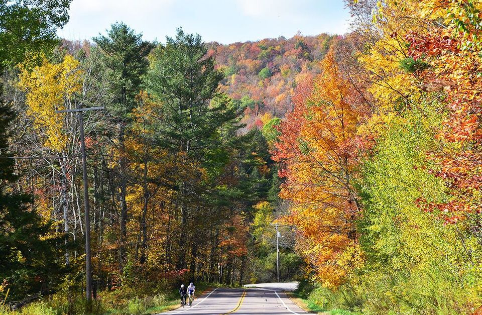 Vermont Fall Foliage: Lake Champlain Valley
