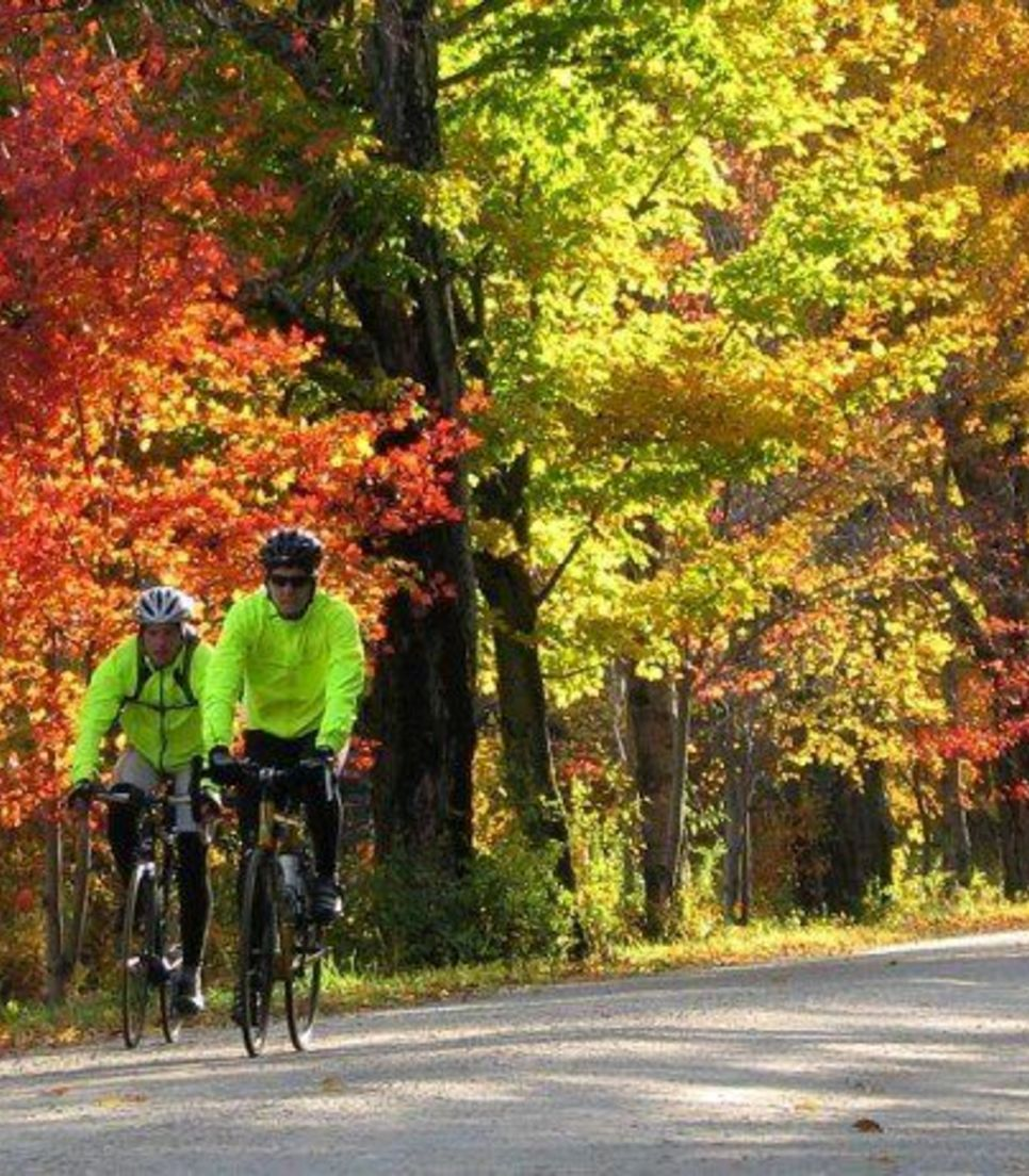 Immerse yourself in the gorgeous display of color at this delightful time of year in Vermont