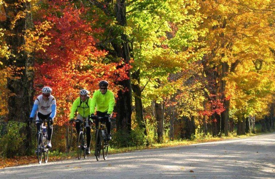 Vermont Bicycle Tour: Stowe Fall Foliage