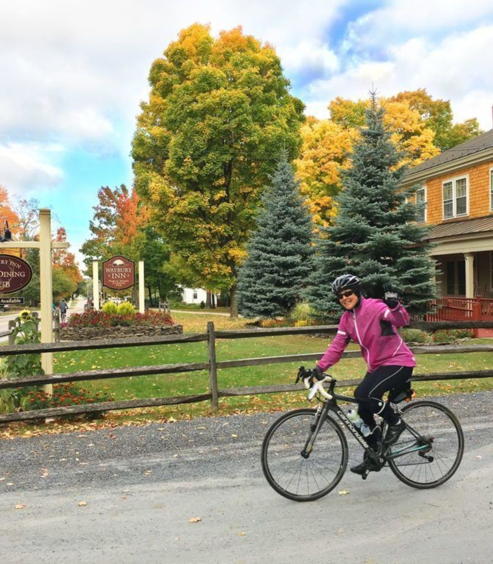 Cycle the Vermont countryside from inn to inn with a minimum of transfers