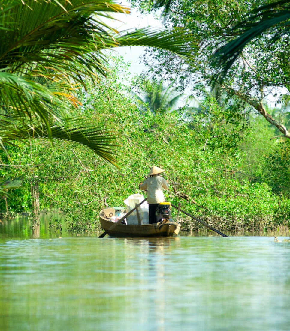 Discover the serenity of the Mekong Delta