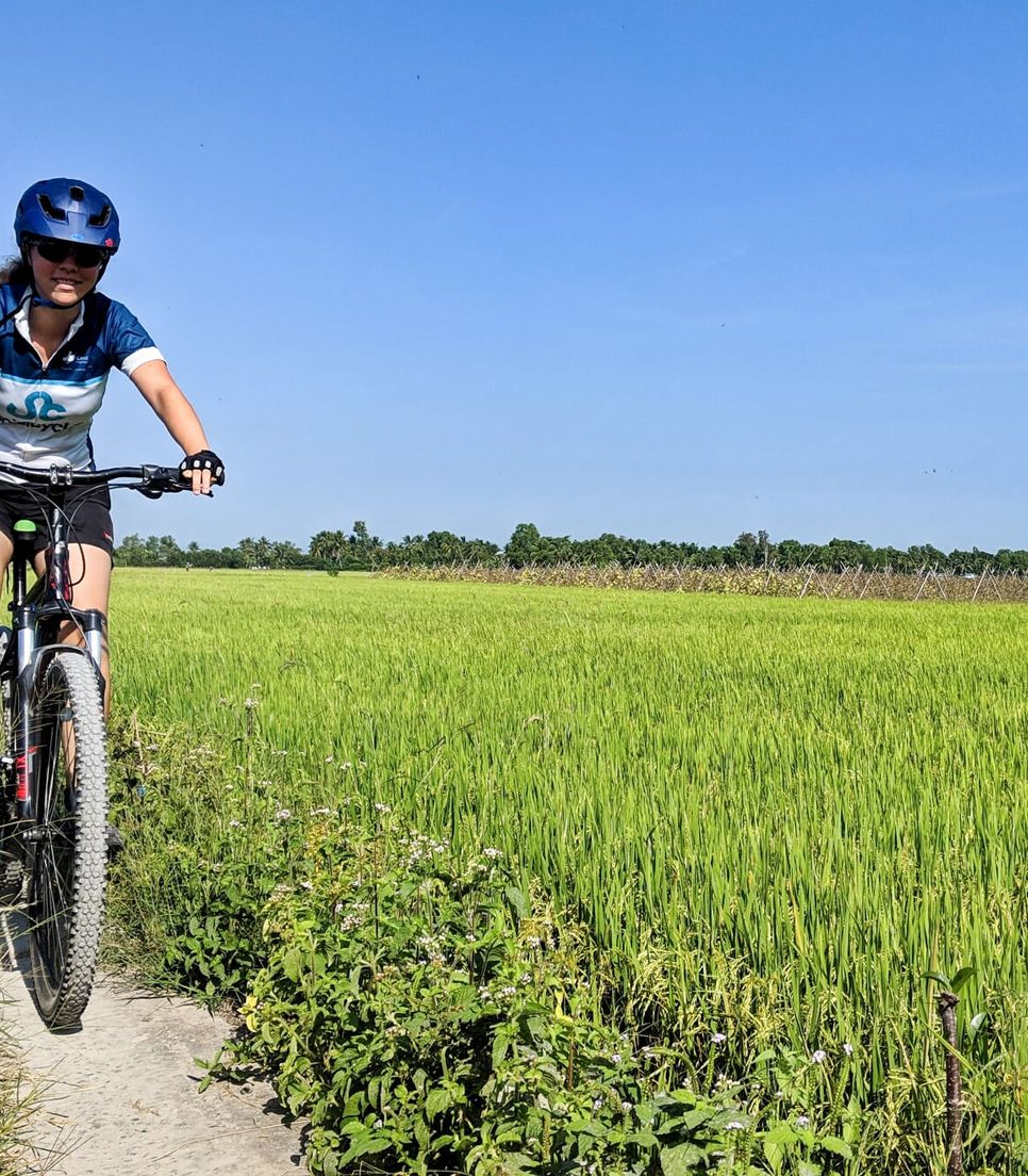 Bike through Cambodia and Vietnam, getting off the beaten track