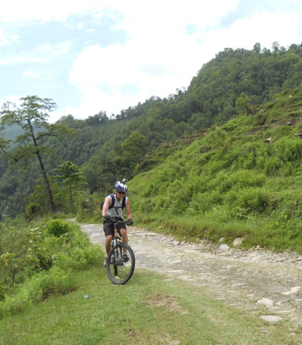 Cycle up to an altitude of 4,000m