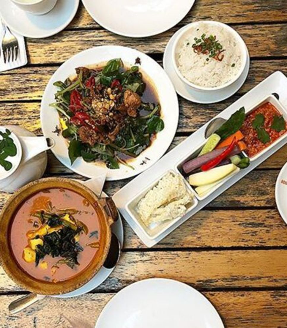Enjoy the wonderful array of cuisine on offer during the tour