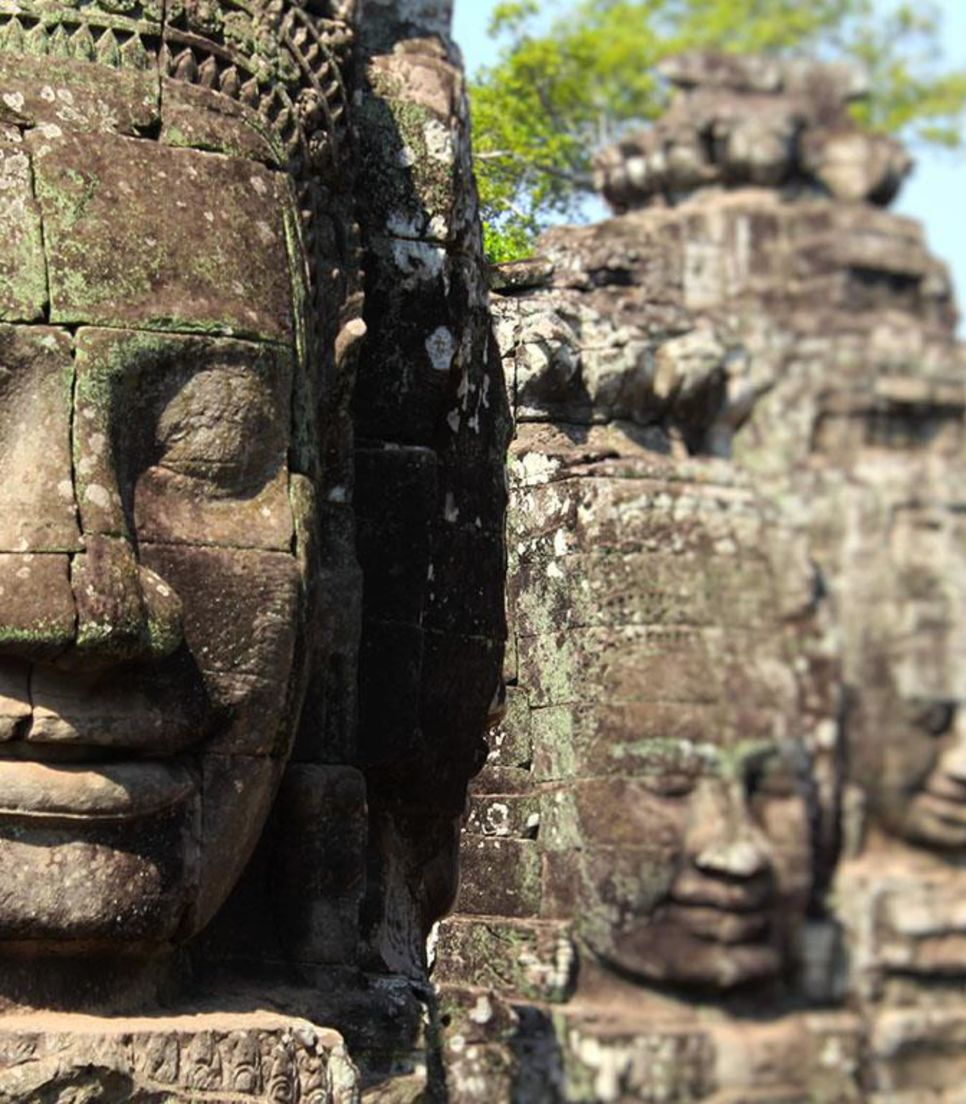 Experience the ancient beauty of Cambodia