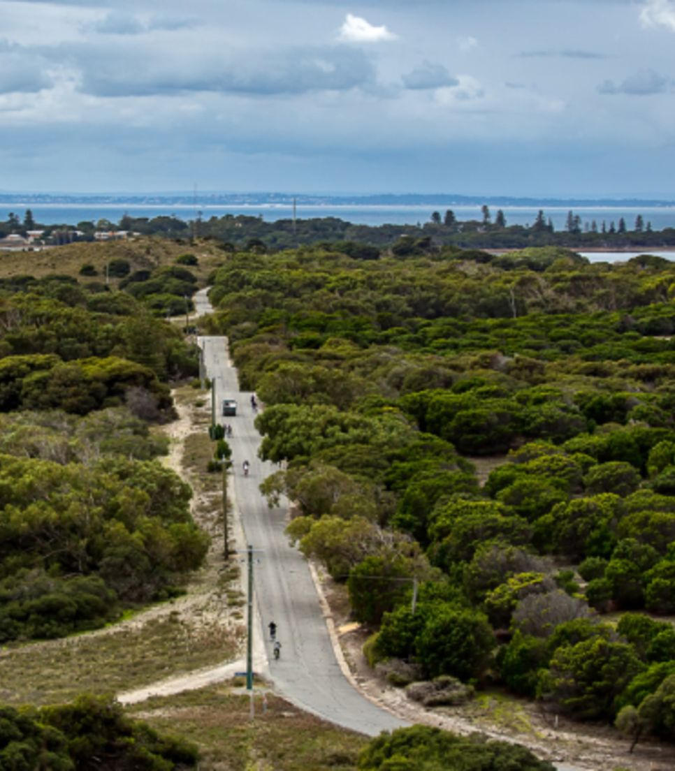 Under guided supervision, explore Rottnest by wonderful e-bike