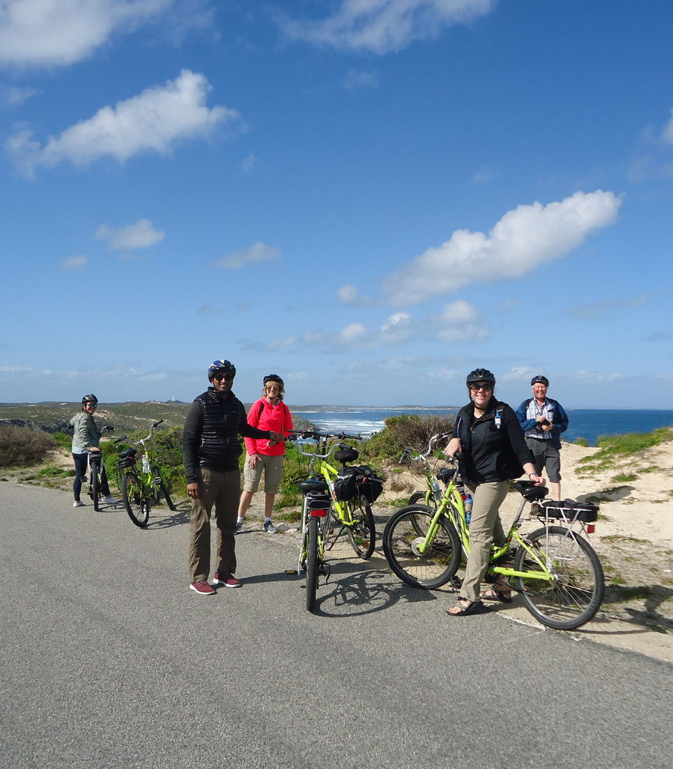 Bike Rottnest with a small guided group