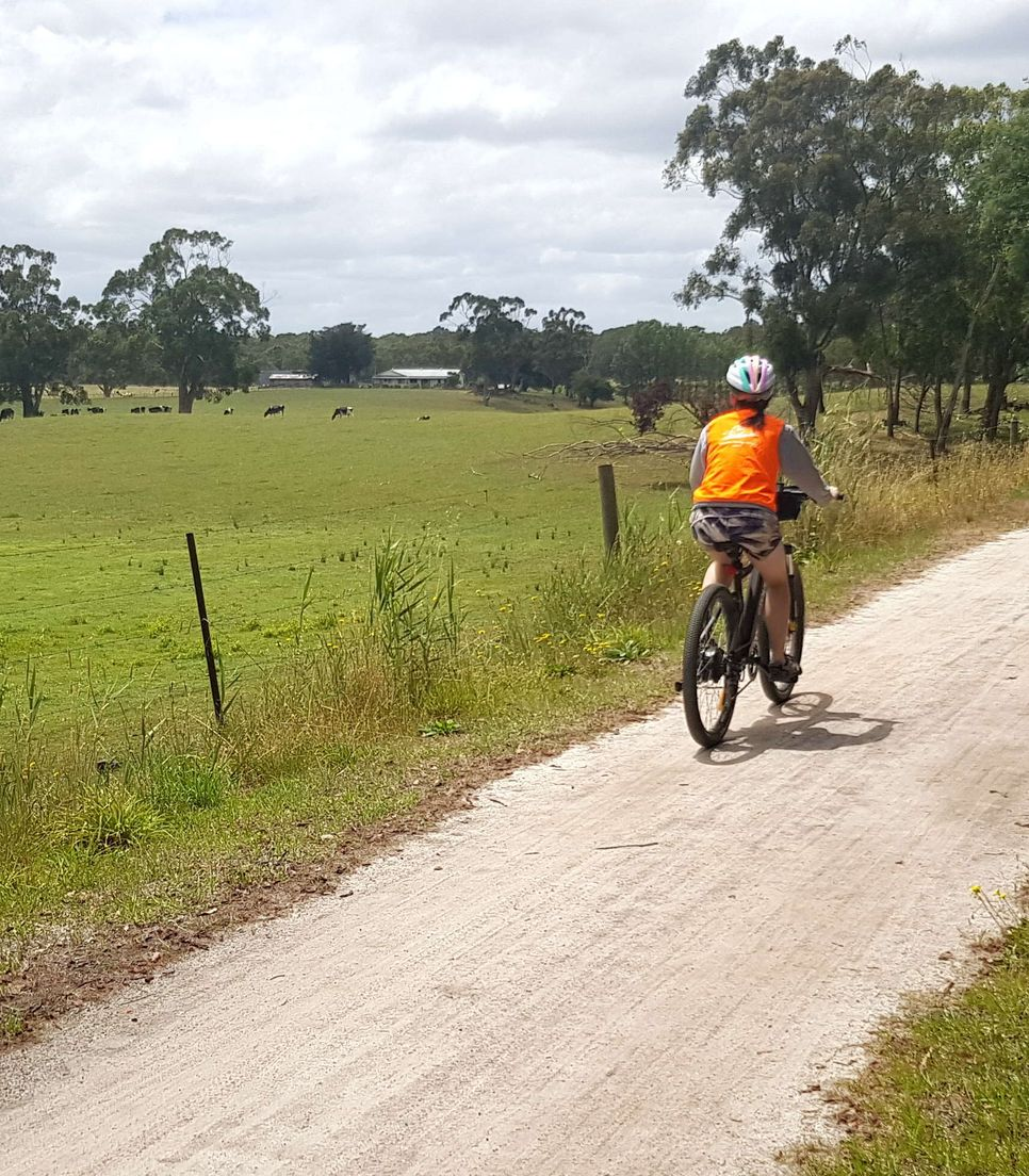 Discover the rail trails of Gippsland on a family cycle tour