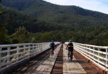 6 Day Rail Trail Bike Tour