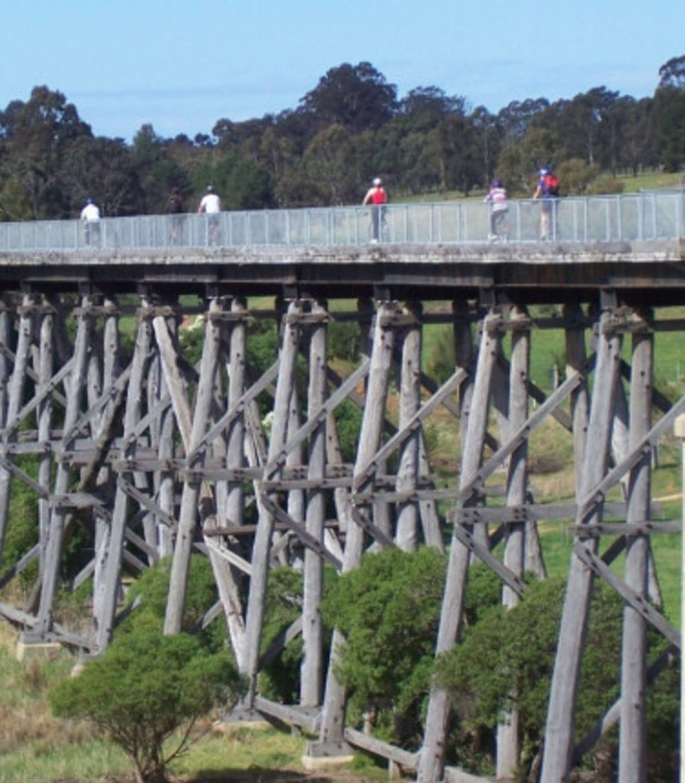 Discover the East Gippsland rail trail