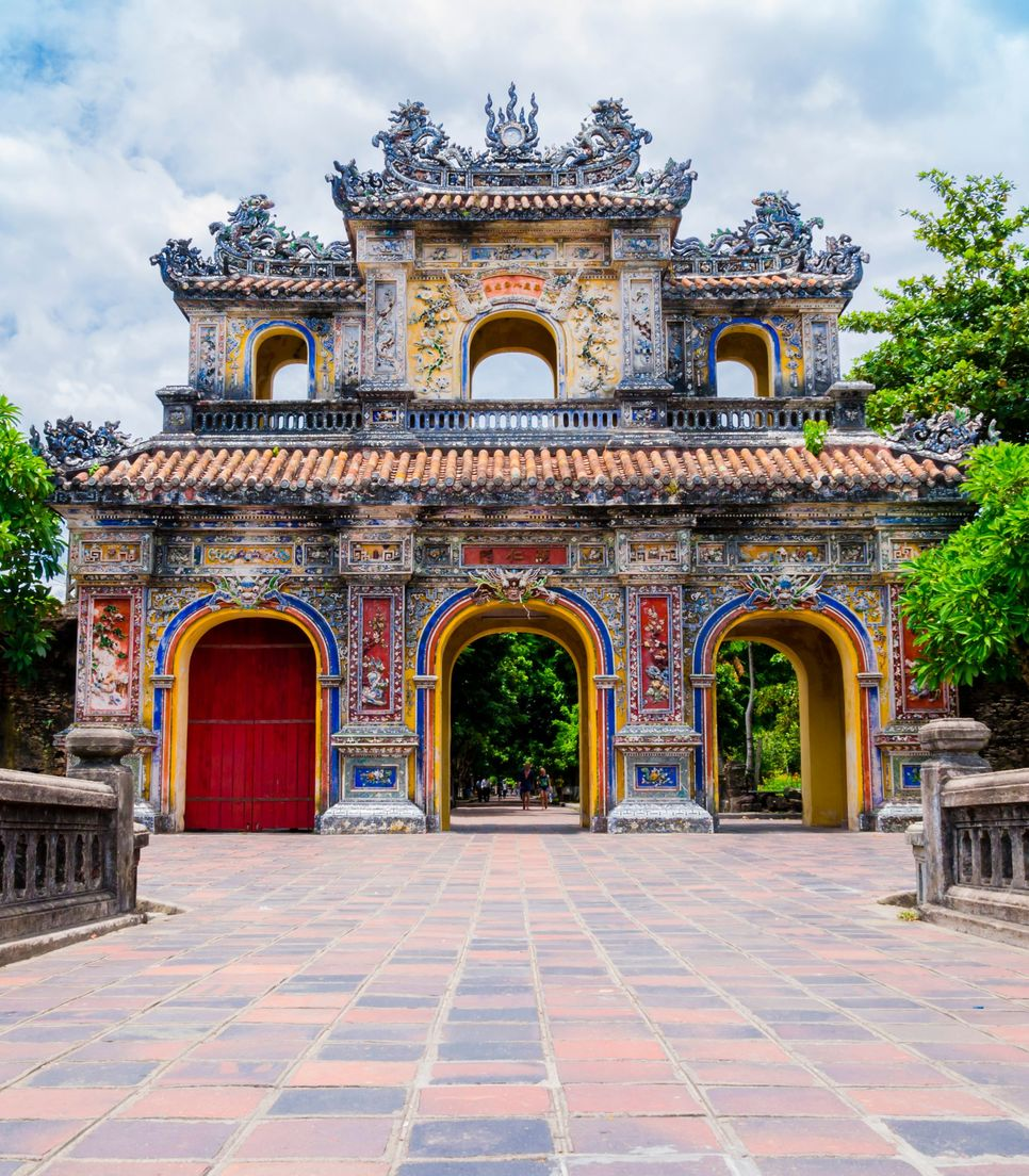 This citadel was the house of the Nguyen dynasty and the former imperial capital of Vietnam
