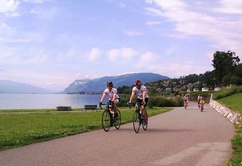 Three Lake Cycling: Geneva, Bourget & Annecy (Option A)