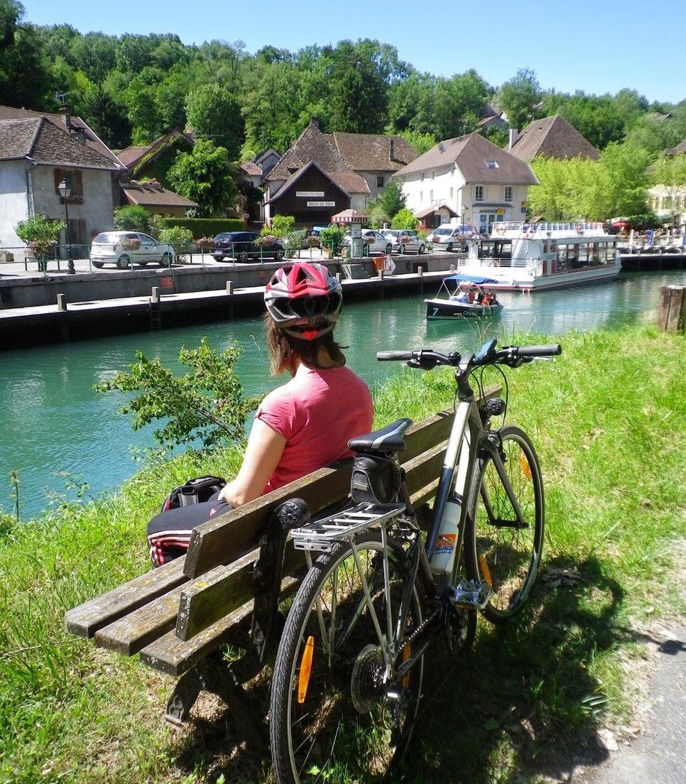 Enjoy the laid back cycling