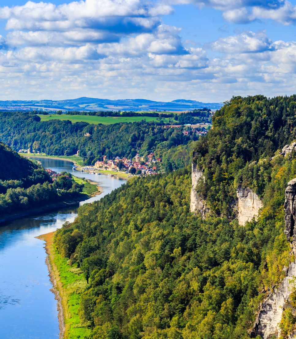 Spend day 5 following the glorious Elbe River