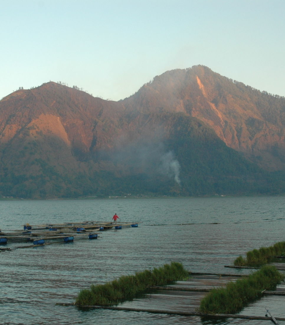 One of Bali's spectacular volcanoes
