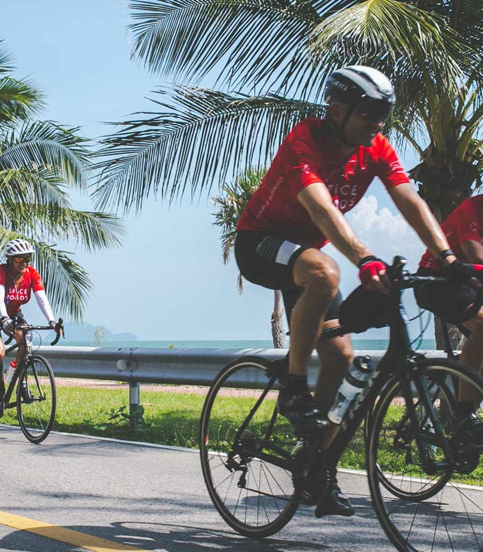 Pure joy discovering Thailand by bike
