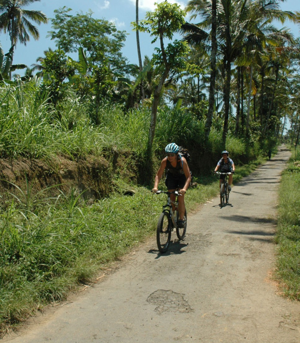 Cycle on quiet back roads