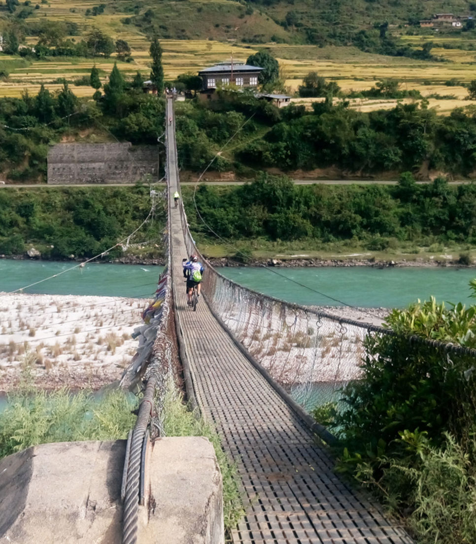 Traverse the beauty of Bhutan on this cycling adventure