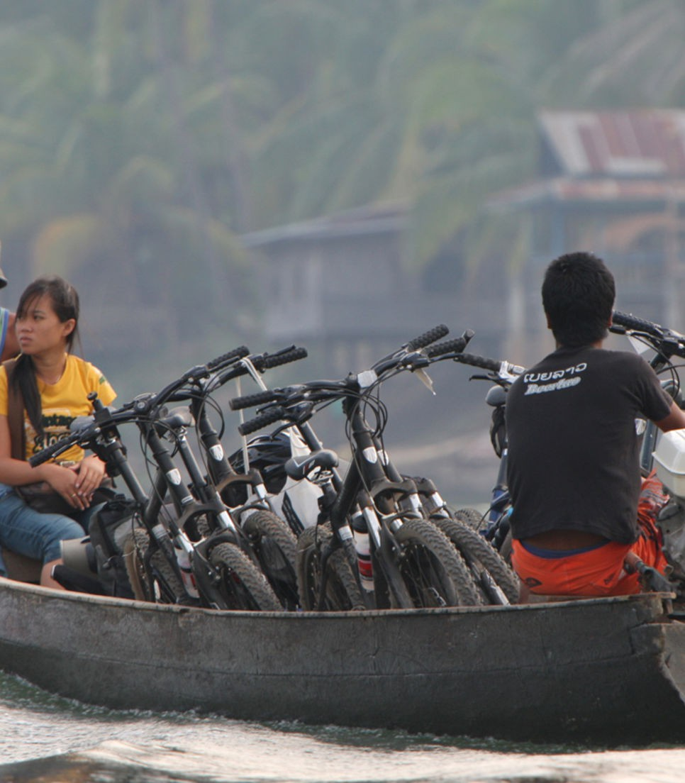 Enjoy a different way of traveling with your bike.