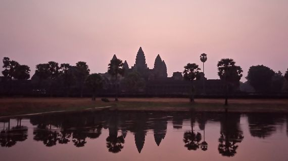 A trip to Cambodia won't be complete without visiting its most famous structure - Angkor Wat