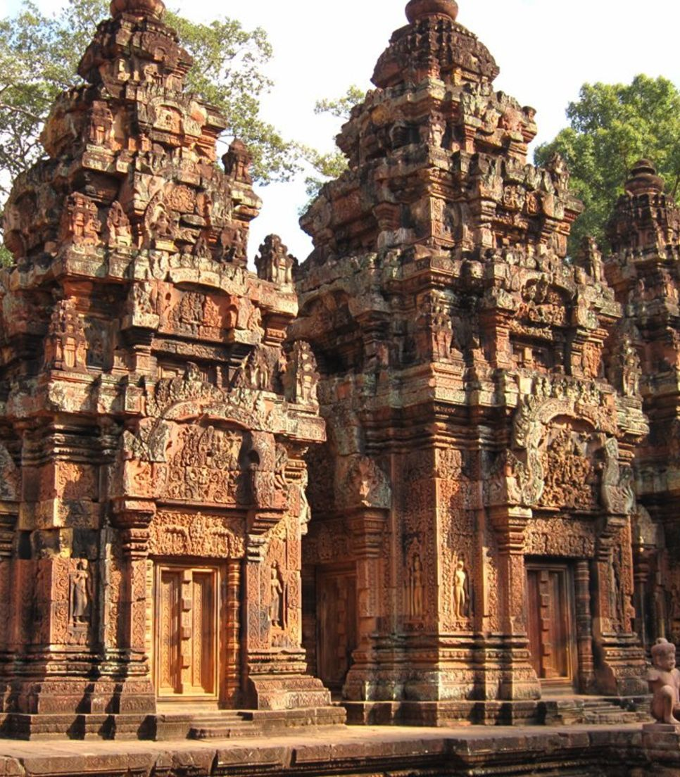 Step into history with a visit to one of the oldest monuments in Angkor