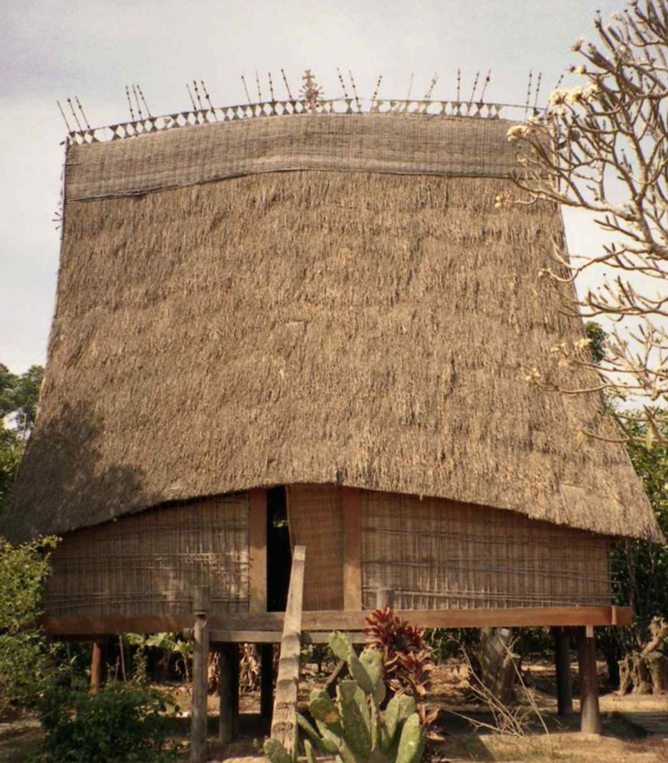 It's just right that local villagers are proud of these structures that are unique to the region