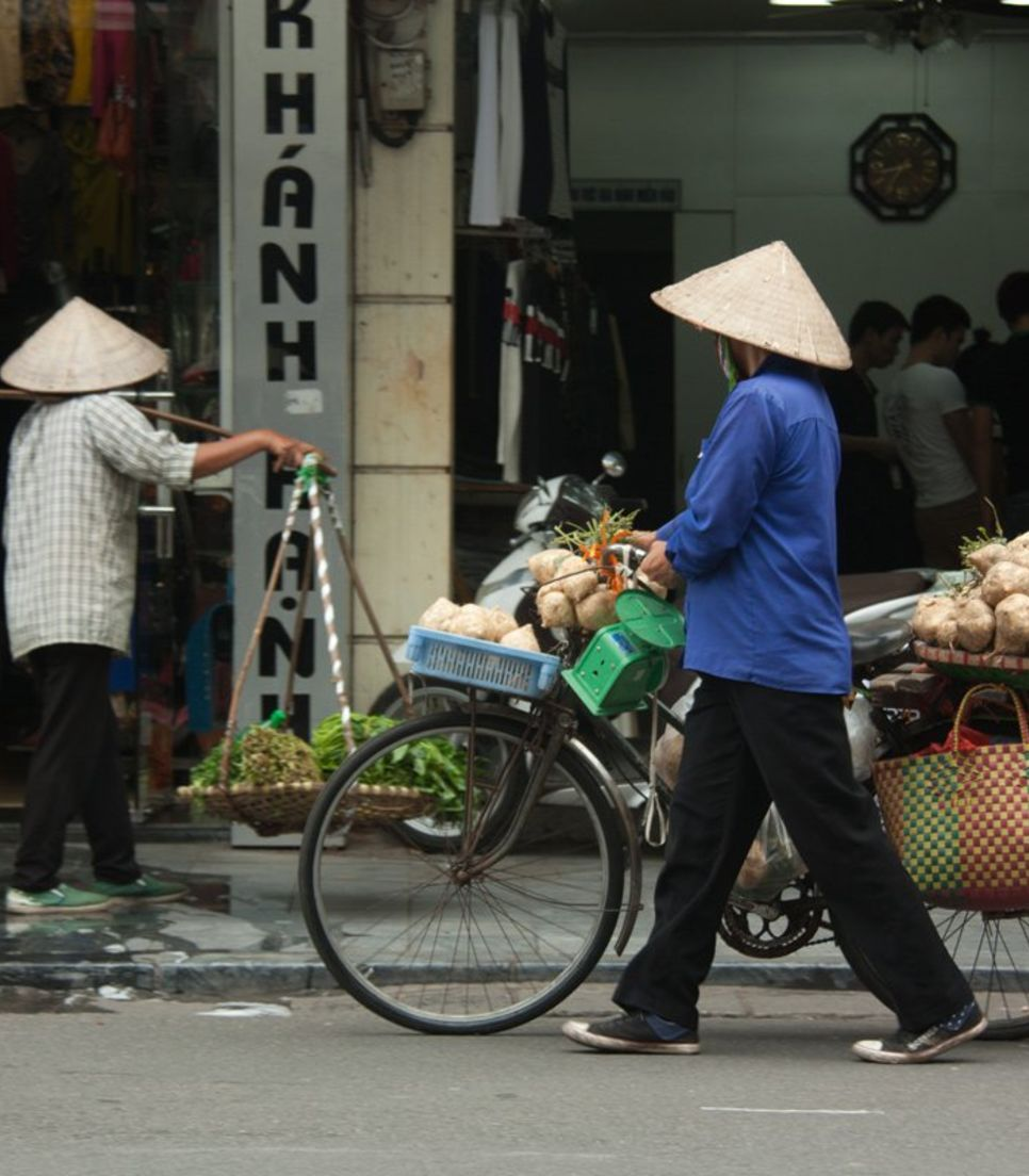 Venture into Vietnam and Laos just like the locals